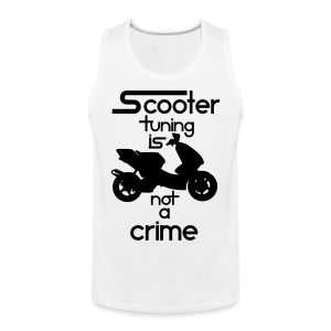 Scooter tuning is not a crime! Vol. III HQ - Männer Premium Tank Top