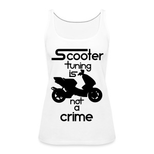 Scooter tuning is not a crime! Vol. III HQ - Frauen Premium Tank Top
