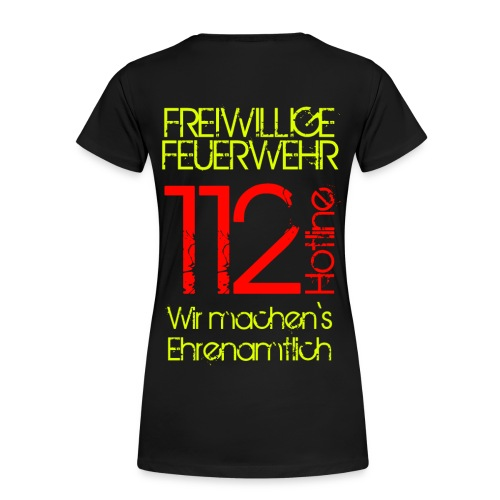 Ehrenamt 112 - Frauen Premium T-Shirt
