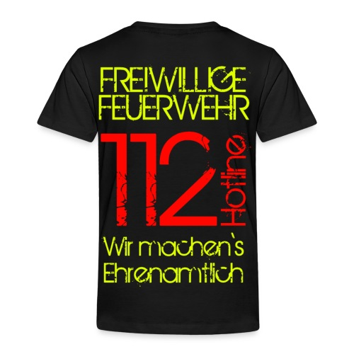 Ehrenamt 112 - Kinder Premium T-Shirt