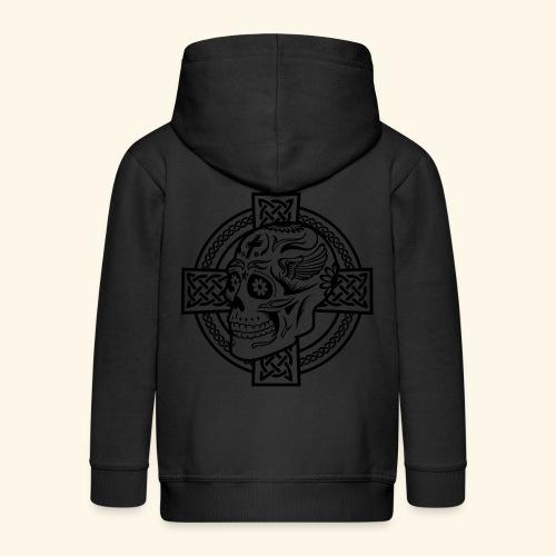 Skull & Celtic Cross, Kerlie - Kinder Premium Kapuzenjacke