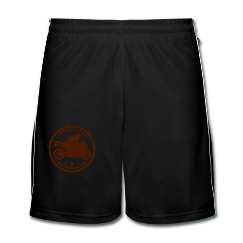 Logo de moto - Pantalones cortos de fútbol hombre