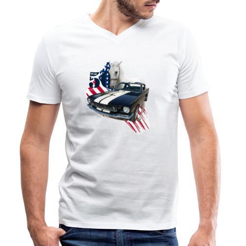 50 Jahre  - Männer Bio-T-Shirt mit V-Ausschnitt von Stanley & Stella