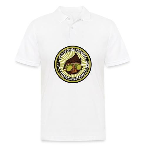 Hauptstadt Affe 5er PIN-SET (25mm) - Männer Poloshirt