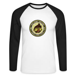 Hauptstadt Affe 5er PIN-SET (25mm) - Männer Baseballshirt langarm