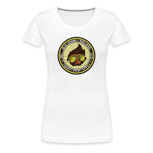 Hauptstadt Affe 5er PIN-SET (25mm) - Frauen Premium T-Shirt