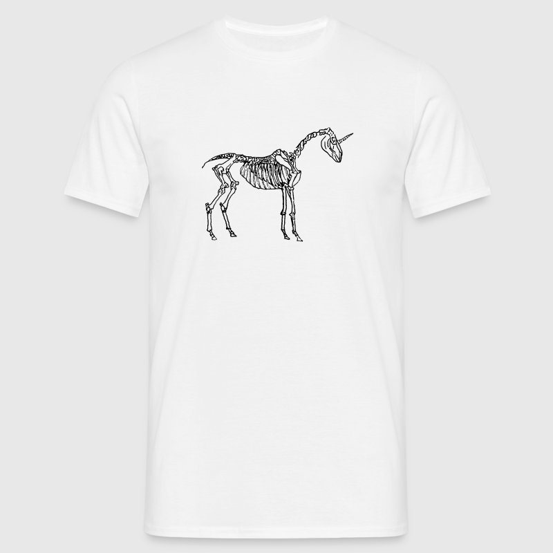 Unicorn Skeleton T-Shirts - Männer T-Shirt
