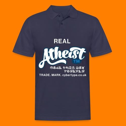 Real Atheist Tee Shirt - Men's Polo Shirt