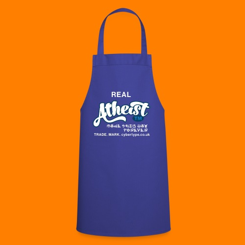 Real Atheist Tee Shirt - Cooking Apron