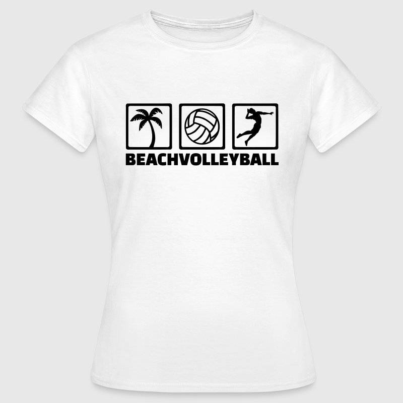 Beachvolleyball T-Shirts - Frauen T-Shirt
