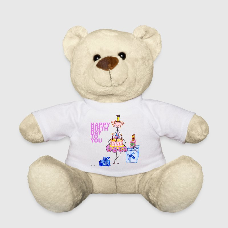 Birthday Princess Soft Toys - Teddy Bear