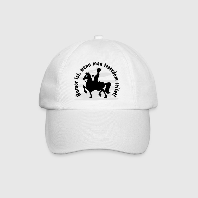 funny horse design Caps & Hats - Baseball Cap