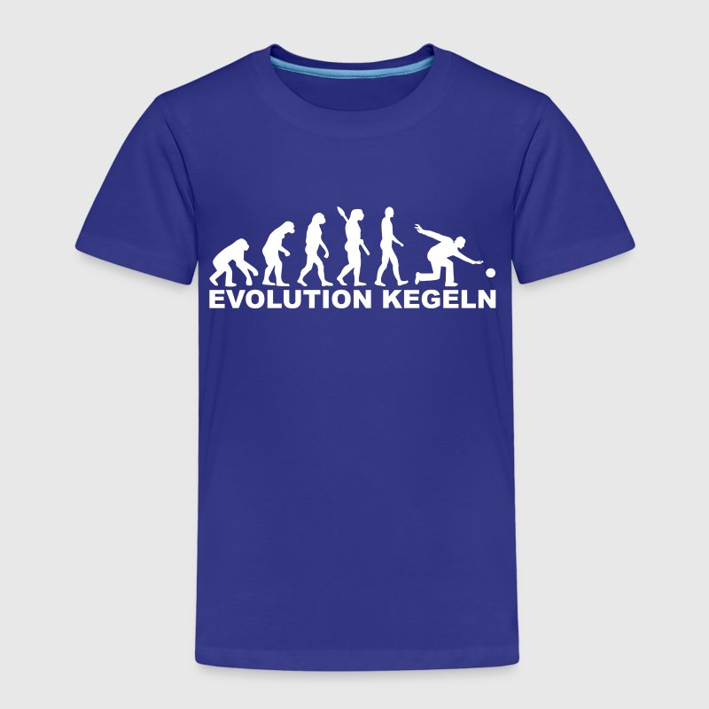 Evolution Kegeln T-Shirts - Kinder Premium T-Shirt