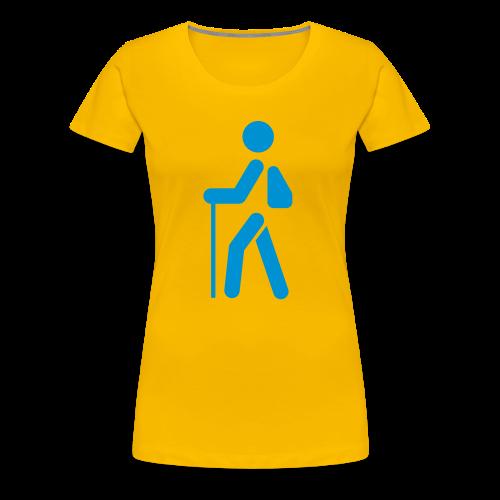 TVU Wandern - Frauen Premium T-Shirt