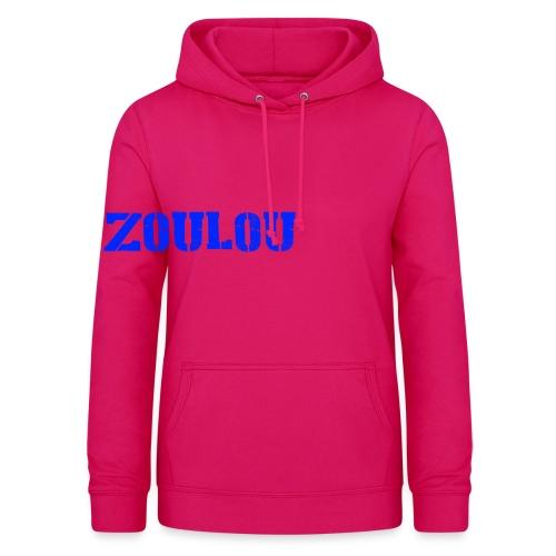 ZOULOU - Sweat à capuche Femme
