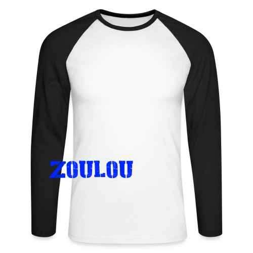 ZOULOU - T-shirt baseball manches longues Homme