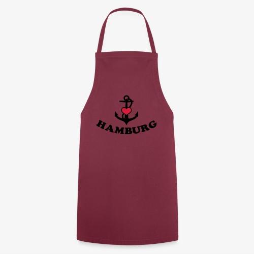 Hamburg meine Liebe I LOVE  Herz auf Anker Heart FrauenT-Shirt - Kochschürze