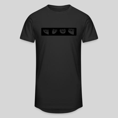 Eulen - Männer Urban Longshirt