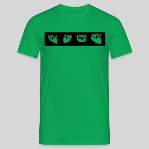 Eulen - Männer T-Shirt