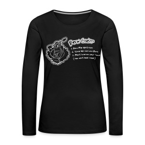 90. Bow Ender - Women's Premium Longsleeve Shirt