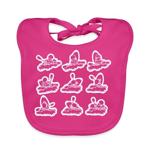 Cartwheel - Baby Organic Bib