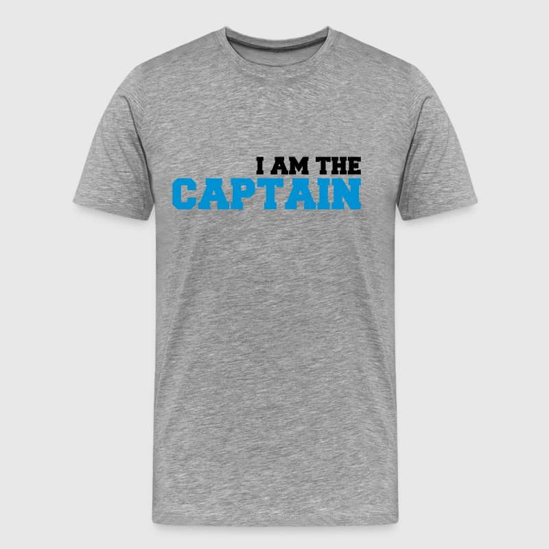 I am the Captain Logo T-Shirts - Männer Premium T-Shirt