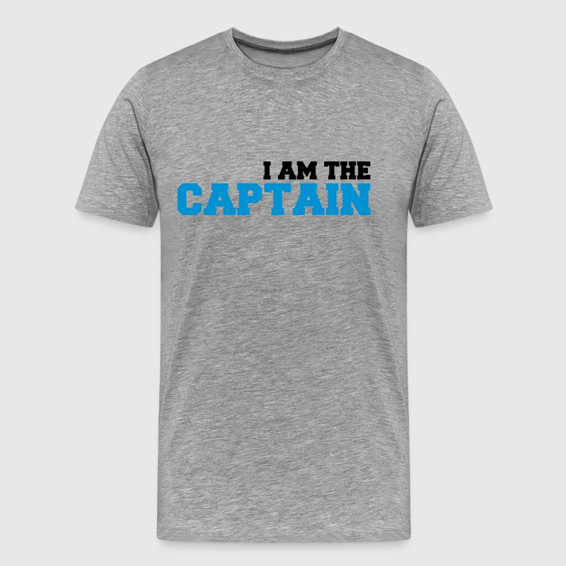 I am the Captain Logo T-Shirts - Men's Premium T-Shirt
