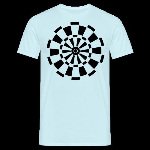Dartscheibe Shirt - Männer T-Shirt