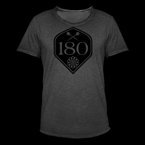 Darts 180 Flight Shirt - Männer Vintage T-Shirt