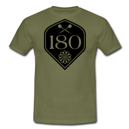 Darts 180 Flight Shirt - Männer T-Shirt