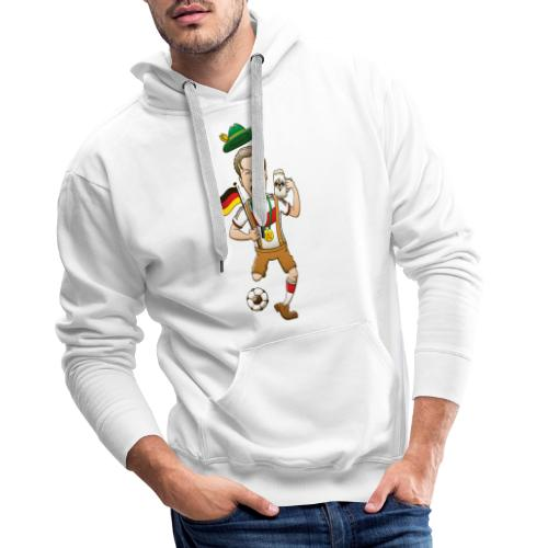 Germany is Four-time World Champion Long sleeve shirts - Men's Premium Hoodie