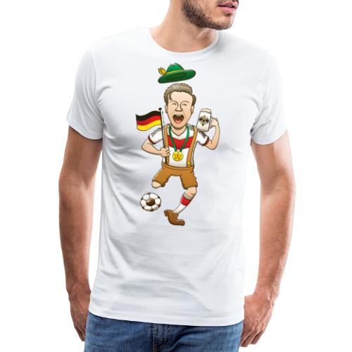 Germany is Four-time World Champion Long sleeve shirts - Men's Premium T-Shirt