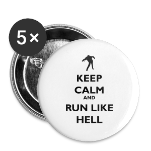 Zombie Keep calm - Buttons small 25 mm