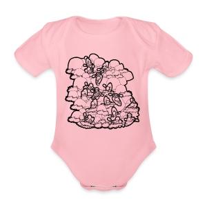 River Daze - Organic Short-sleeved Baby Bodysuit