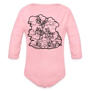 River Daze - Organic Longsleeve Baby Bodysuit