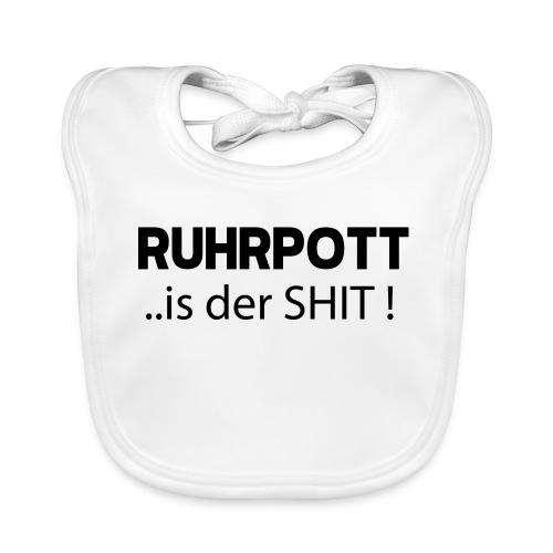 RUHRPOTT... is der SHIT - Hoodie - Baby Bio-Lätzchen