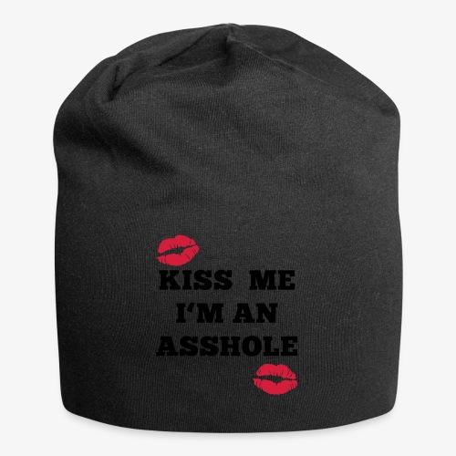 Kiss Me I'm an Asshole - Pullover - Jersey-Beanie
