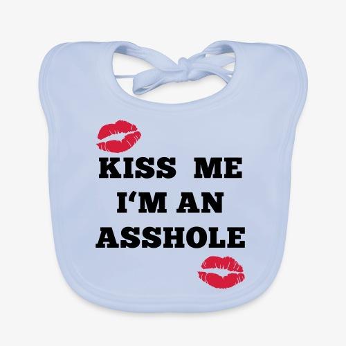 Kiss Me I'm an Asshole - Pullover - Baby Bio-Lätzchen