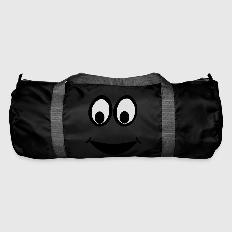 Funny Face, Cartoon Face, Trickfilm, Smiley Bags & Backpacks - Duffel Bag