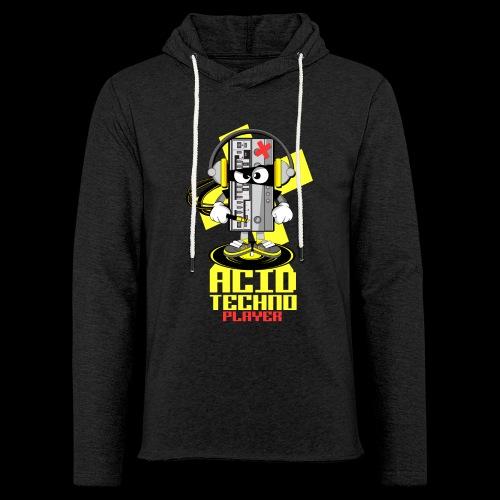 ACID ACID TECHNO PLAYER - Light Unisex Sweatshirt Hoodie