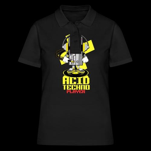 ACID ACID TECHNO PLAYER - Women's Polo Shirt