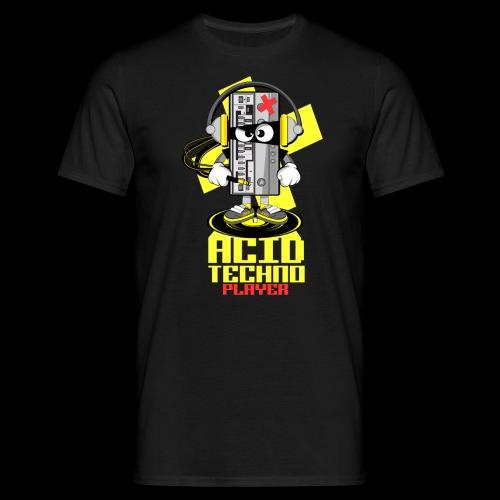 ACID ACID TECHNO PLAYER - Men's T-Shirt