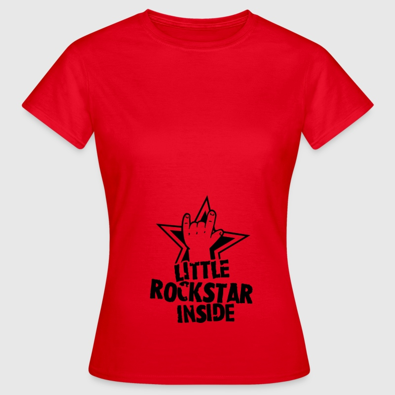 Little Rockstar inside T-Shirts - Frauen T-Shirt