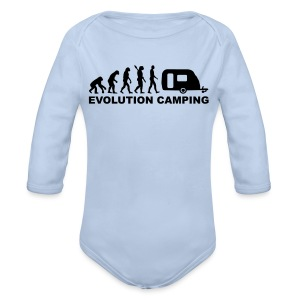 Evolution Camping - Longlseeve Baby Bodysuit