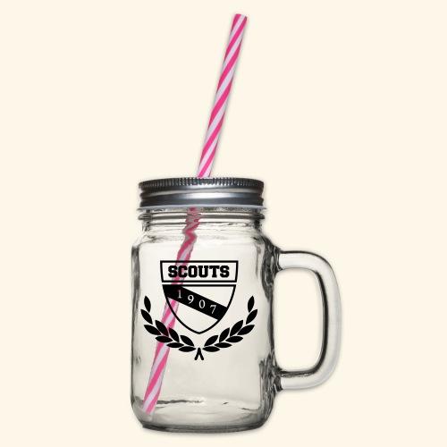 Scout College - Mädls - Henkelglas mit Schraubdeckel