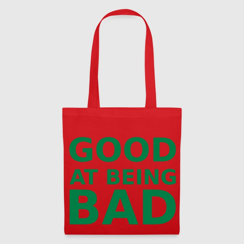 Good at being bad Sacs et sacs à dos - Tote Bag