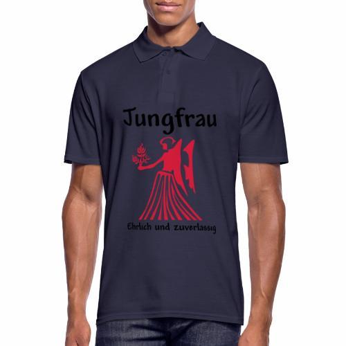 Sternzeichen Jungfrau - Männer Poloshirt