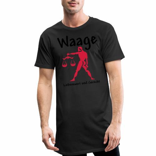 Sternzeichen Waage - Männer Urban Longshirt