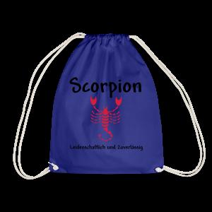 Sternzeichen Scorpion - Turnbeutel