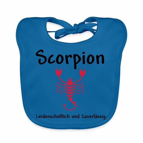 Sternzeichen Scorpion - Baby Bio-Lätzchen